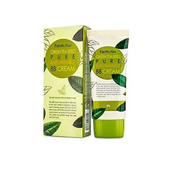 Антивозрастной BB-крем с семенами зеленого чая Farm Stay Green Tea Seed Pure Anti-Wrinkle BB Cream
